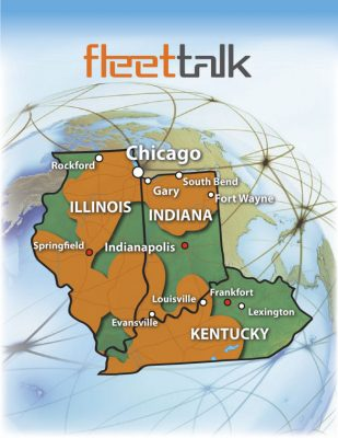 FleetTalk is provided in Louisville, KY and the surrounding areas.